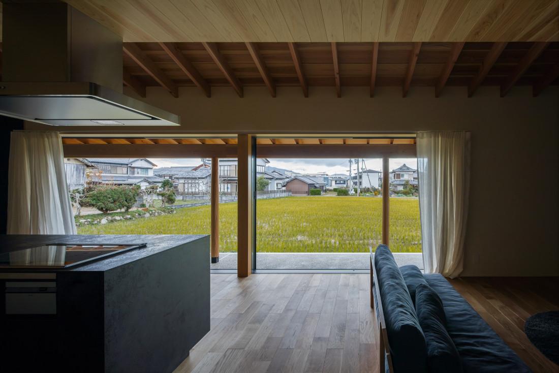 寺庄の家(6mの大開口のある和モダンの家) アイキャッチ画像
