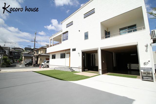 【Kocoro house】自慢のインナーガレージがかっこいい家 アイキャッチ画像