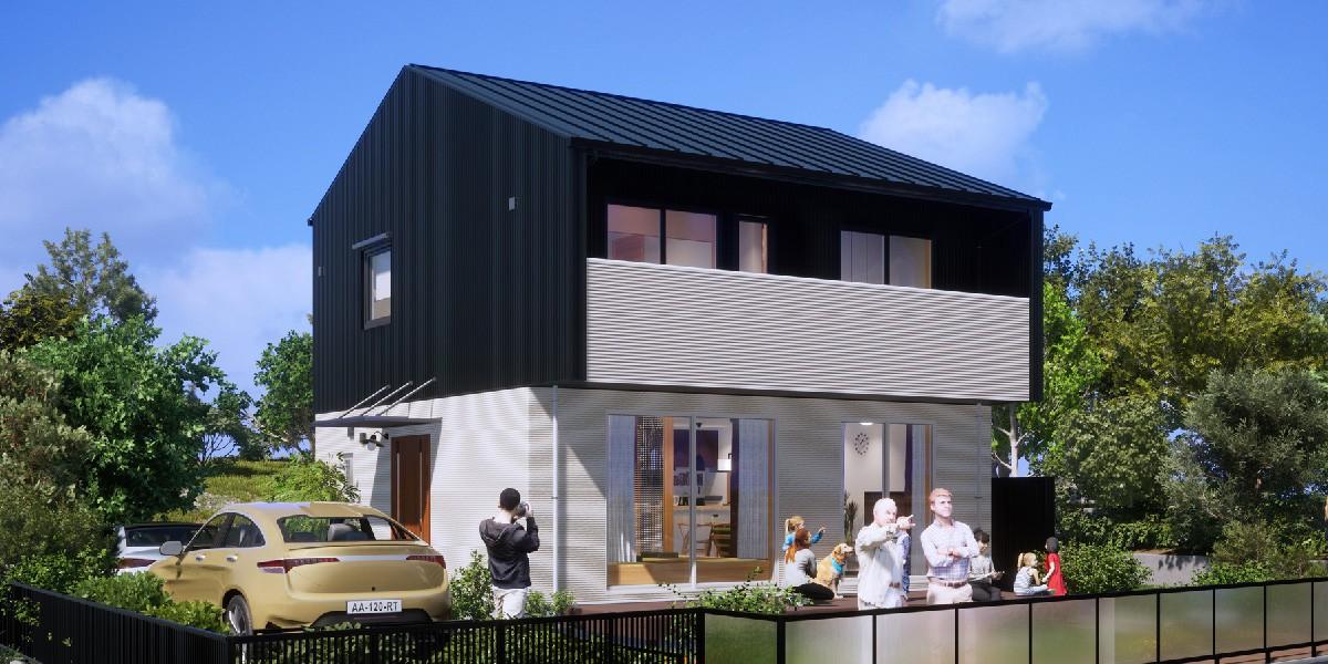 草津市追分南 MSDG 松尾設計室の規格住宅 アイキャッチ画像